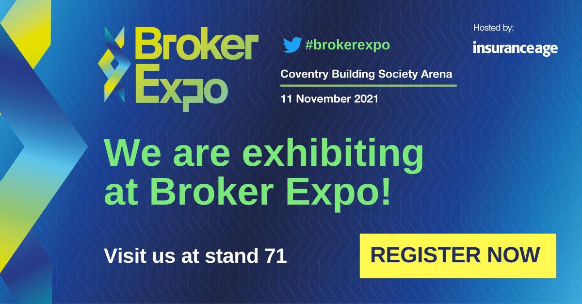 Broker Expo advert banner